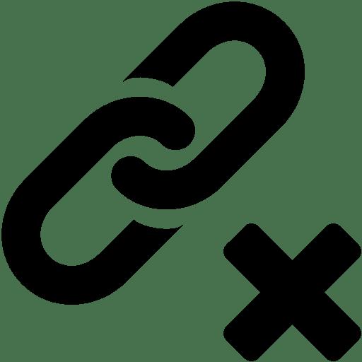 Files-Delete-Link icon