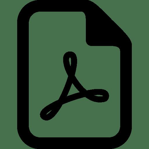 Files Pdf icon