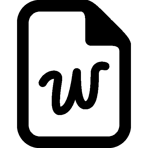 Files Word icon