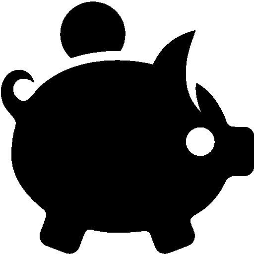 Resultado de imagem para finance icon PNG black