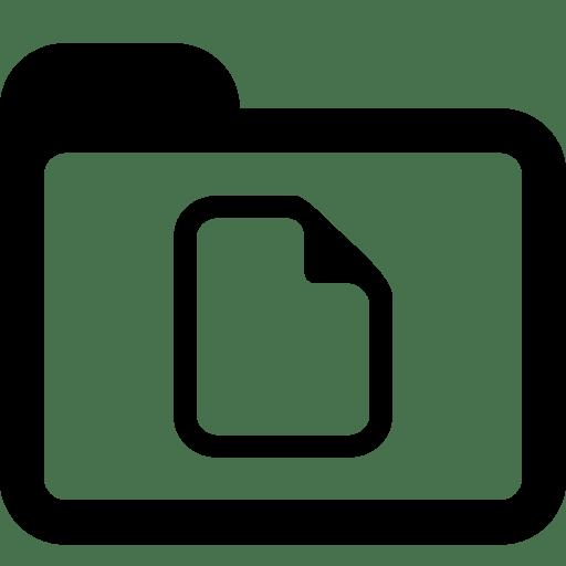Folders-Documents-Folder icon