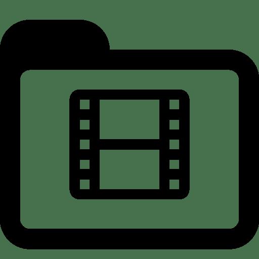 Folders-Movies-Folder icon