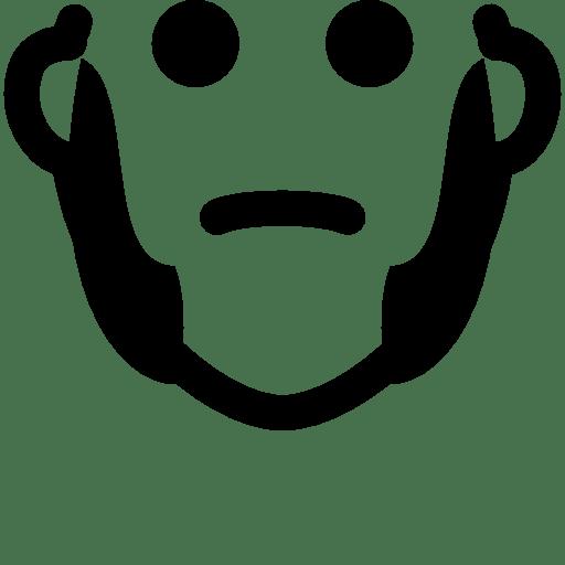 Hair Sideburns icon