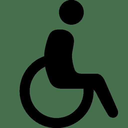 Healthcare-Wheelchair icon