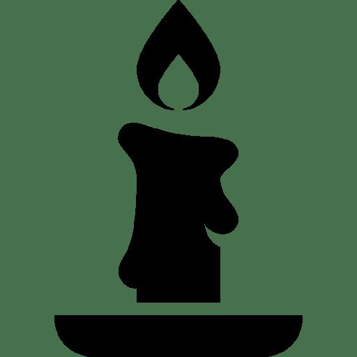 Holidays-Christmas-Candle icon