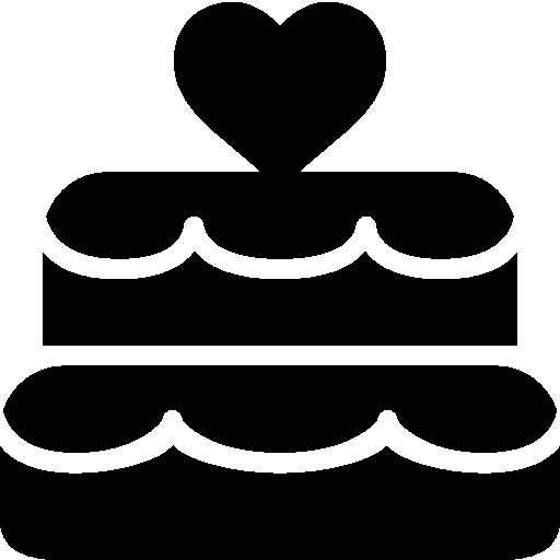 Holidays Wedding Cake icon