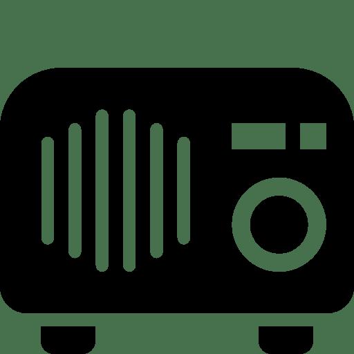 Household-Tabletop-Radio icon