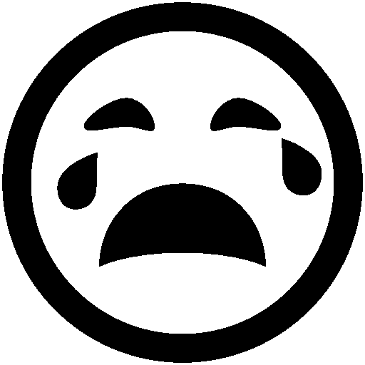 Messaging-Crying icon