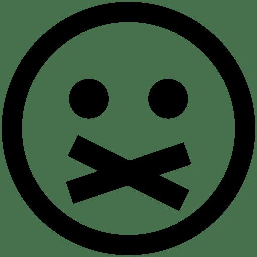 Messaging-Private-Emoticon icon