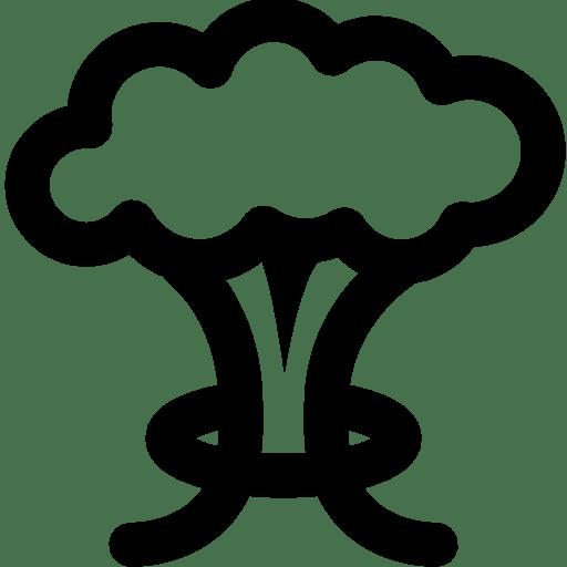 Military-Mushroom-Cloud icon