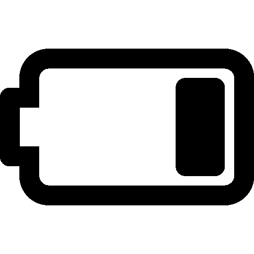 Mobile-Battery-25-Percent icon