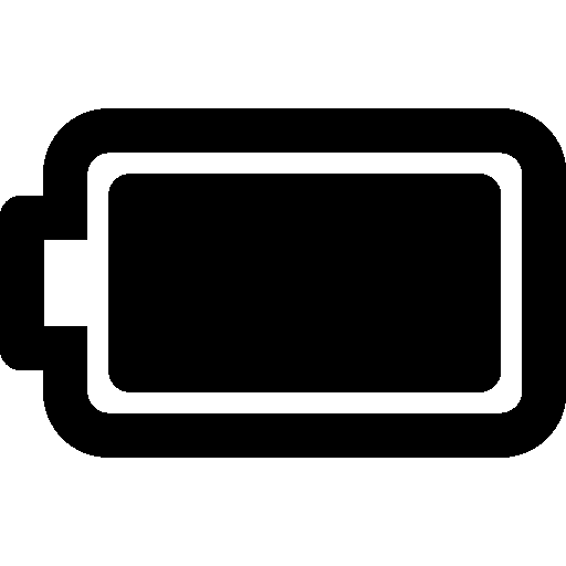 Mobile Full Battery Icon | Windows 8 Iconset | Icons8
