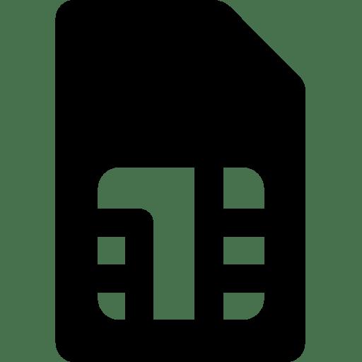 Mobile-Sim-Card icon
