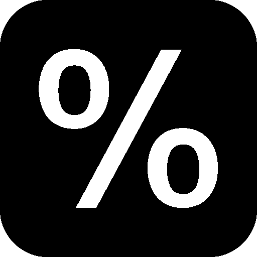 Science-Percentage icon