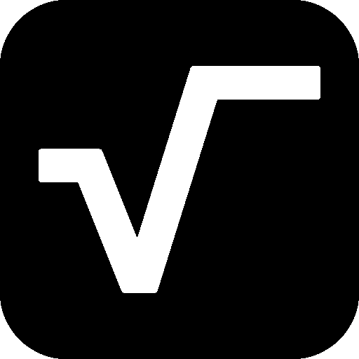 Science-Square-Root icon