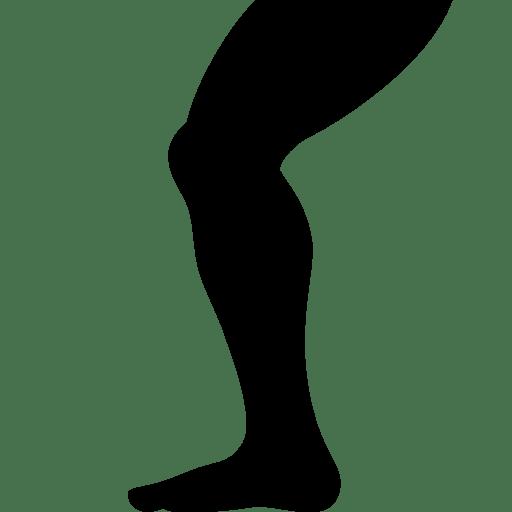 sports leg icon windows 8 iconset icons8