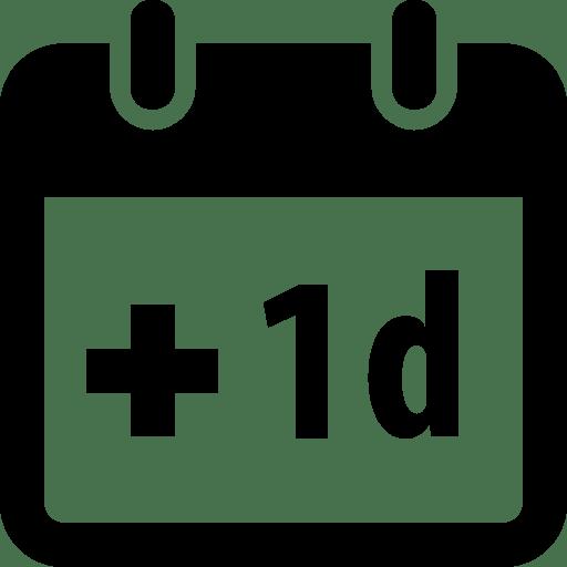 Time Plus 1day icon