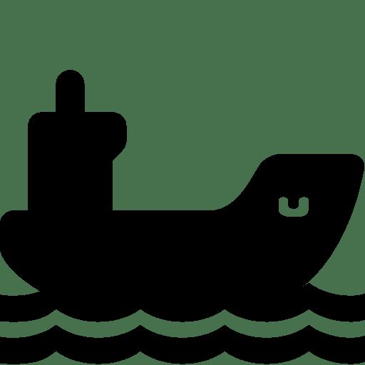 Transport Cargo Ship icon
