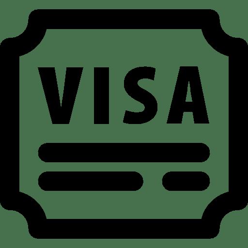 Travel Enterance Visa icon