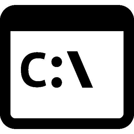 User Interface Command Line icon