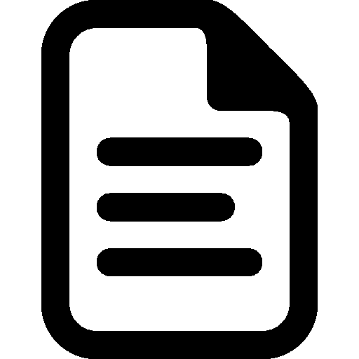 Very Basic Document Icon | Windows 8 Iconset | Icons8