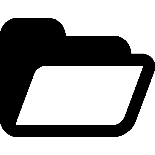 Very Basic Opened Folder icon