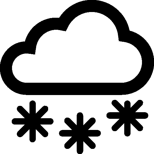 Weather Snow Icon | Windows 8 Iconset | Icons8