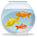 Fish-bowl icon