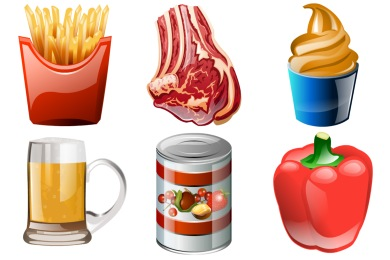 Brilliant Food Icons
