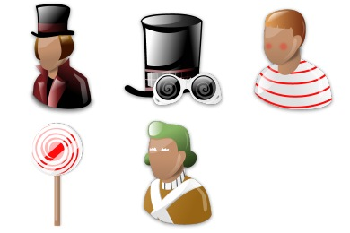 Charlie and the Chocolate Factory Icons