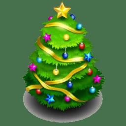 chrismas tree icon