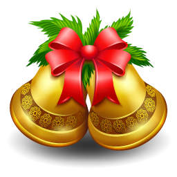Christmas bell Icon | Christmas Iconset | Iconshock