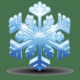 Snowflake Icon | Christmas Iconset | Iconshock