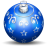 Christmas tree ball 3 icon