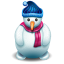 http://icons.iconarchive.com/icons/iconshock/christmas/64/snowman-icon.png