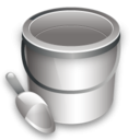 construction bucket icon