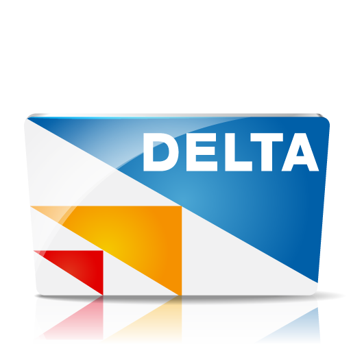 Delta Icon Credit Card Iconset