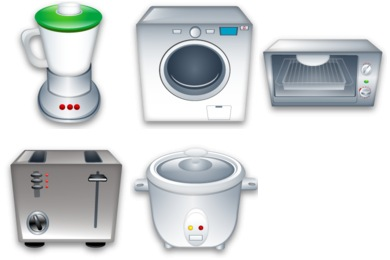 Electrical Appliances Icons