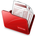 Folder-invoices icon