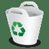 Recycler-bin icon