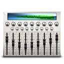 audio mixing desk icon