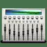 Audio-mixing-desk icon