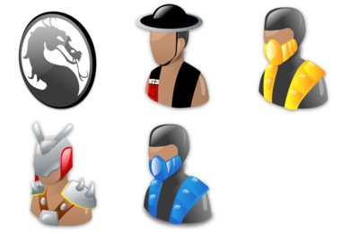Mortal Kombat Icons