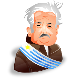 Jose mujica icon