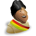 evo morales icon