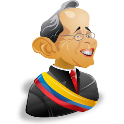alvaro uribe icon