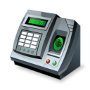 Fingerprint reader icon