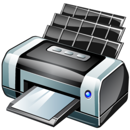 bubble jet printer icon