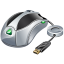 Usb mouse icon