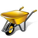 wheelbarrow icon